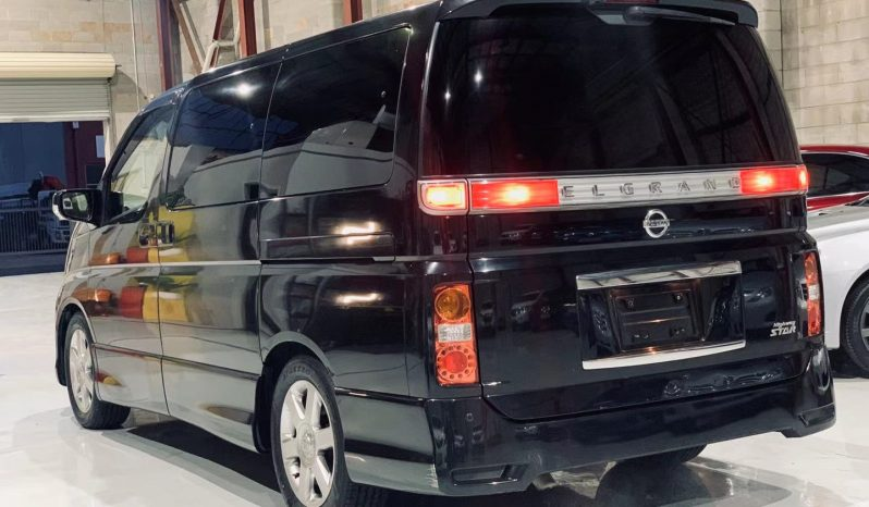 2008 Nissan Highway Star s3  Luxury People Mover full