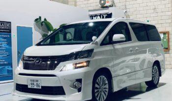 2015 Toyota Vellfire Premium People mover full